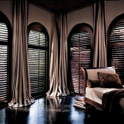 plantation shutters for your living room